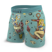Mens Pinup underwear - front left - KNOBBY